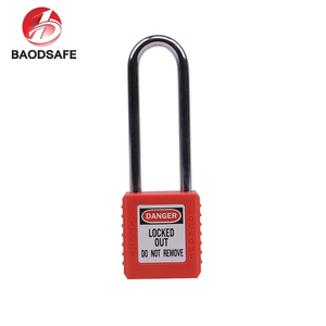 76mm Long Steel Shackle Safety Padlock