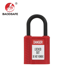 Safety Padlock Non-Conductive One-Piece