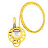 Wheel Type Safety Universal Cable Lockout