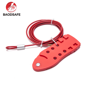 Economic Red Universal Cable Tagout Lockout