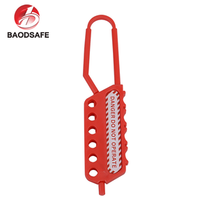 Padlock Red Padlock Nylon Hasp Lockout