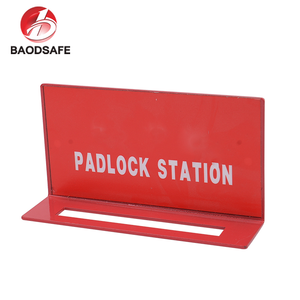 5 ~20 Steel Safety Padlock Station Red